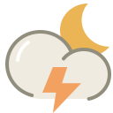 Thunder night icon