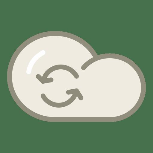 Cloud-refresh icon