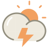 Thunder-day icon