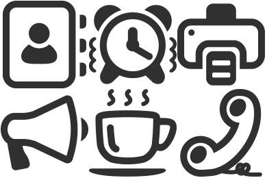 Mono Business 2 Icons