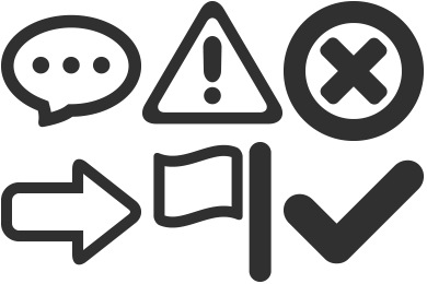 Mono General 1 Icons