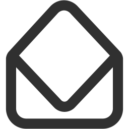Mail open icon
