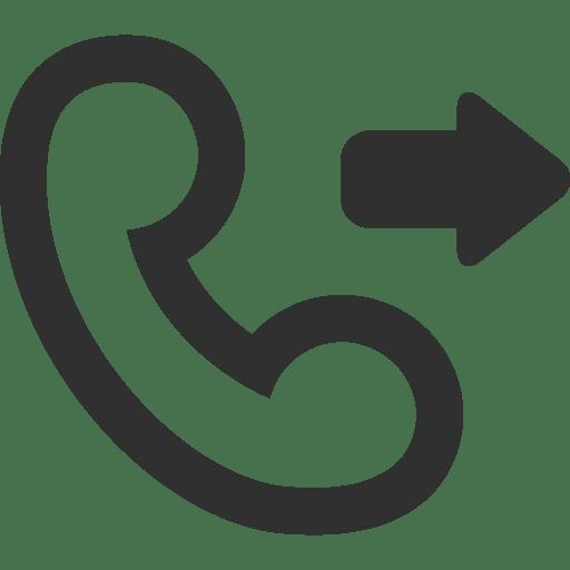 Call-outgoing icon