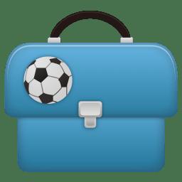 Schoolbag boy icon