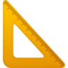 Triangle-ruler icon