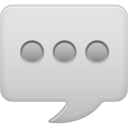 Message bubble icon