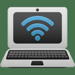Laptop wifi icon