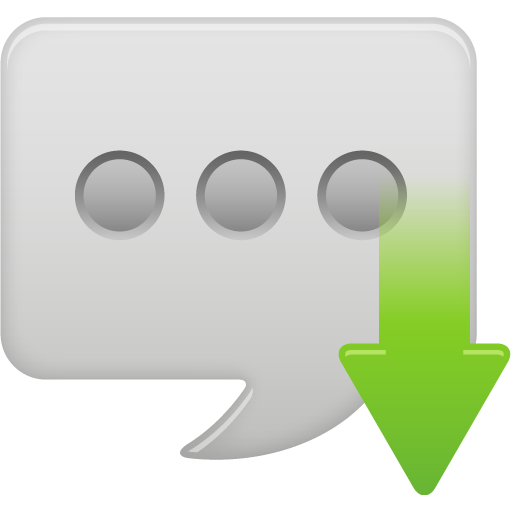 Message-bubble-received icon