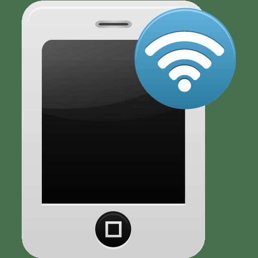 Smartphone-wifi icon