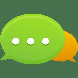 Bubble Communication icon