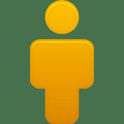 User Orange icon