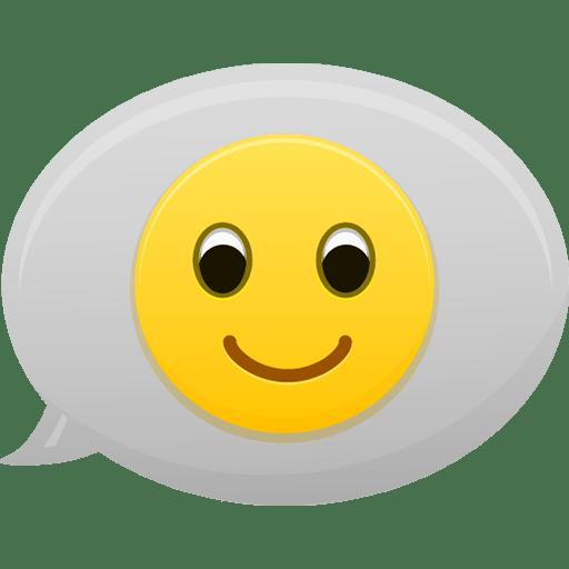 Emoticons Bubble icon