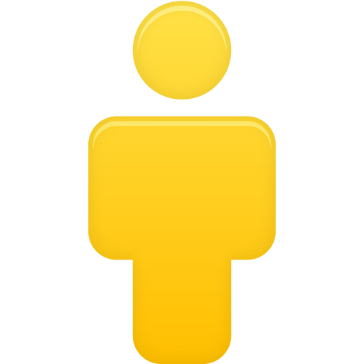 User-Yellow icon
