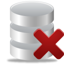 Remove from database icon