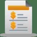 Sales report icon