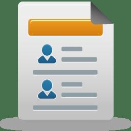 Distributor report icon