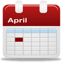 Calendar selection day icon