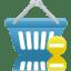Shopping-basket-prohibit icon