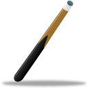Sport pool cue icon