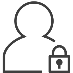 User locked icon