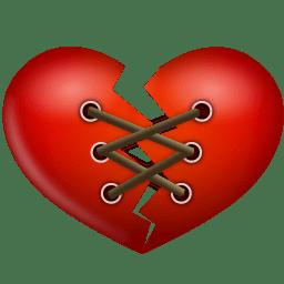 Stitch heart icon
