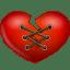 Stitch-heart icon