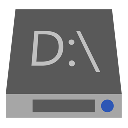 Drive D icon