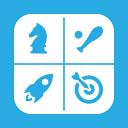 Folders OS Games alt 2 Metro icon