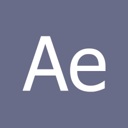 Apps Adobe After Effects Metro icon