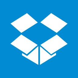 Apps Dropbox Metro icon