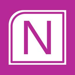 Office Apps OneNote alt 1 Metro icon
