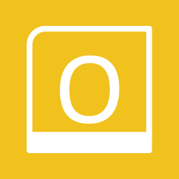 Office Apps Outlook alt 2 Metro icon