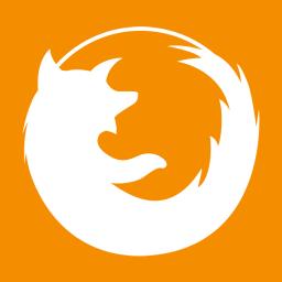 Web Browsers Firefox alt Metro icon