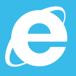 Web Browsers Internet Explorer Metro icon