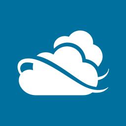 Web Live SkyDrive Metro icon