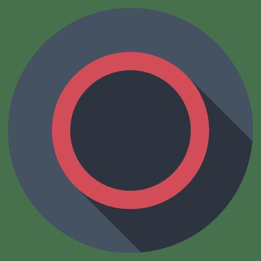 Playstation-circle-dark icon