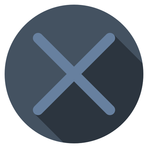 Playstation-cross-dark icon