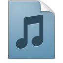 Document music playlist icon