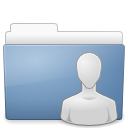 Folder public share icon