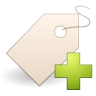 Actions-tag-new icon