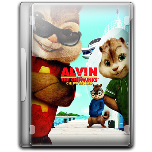 Alvin And The Chipmunks 3 V5 Icon English Movies 3 Iconset