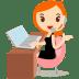 Callcenter-girls-orange icon