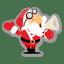 Santa-shout icon