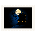 Stamp-scary-night icon