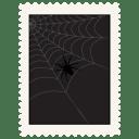 Stamp spider icon