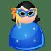 Mask-woman icon