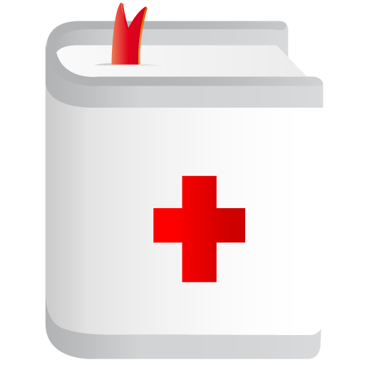 Medical-book icon