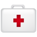 Medical suitecase icon