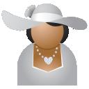 Miss-grey-hat icon