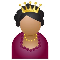 Miss crown icon